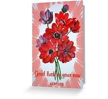 Good Luck In Your New Venture Greeting Card