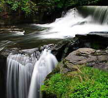 Aberdulais water fall 2 by TC3 Photography