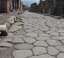Streets of Pompeii by Kymbo