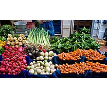Fresh Vegetables Photographic Print