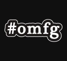 OMFG - Hashtag - Black & White by graphix