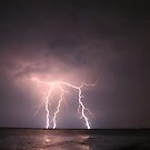 Lightning Strikes by Kuzeytac