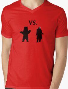black bear vs demon Mens V-Neck T-Shirt