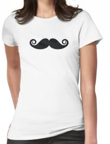 MUSTACHE! Womens Fitted T-Shirt
