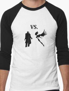 demon vs magic  Men's Baseball ¾ T-Shirt