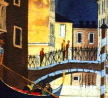 Evening Lights - Venice  Sticker