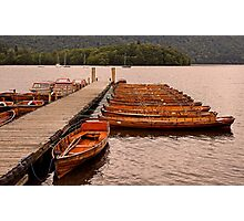 Jetty at Windermere Photographic Print