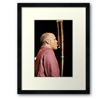 John Medeski playing the ...? Framed Print