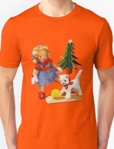 Knitted out for Christmas - Vintage Retro Tee T-Shirt