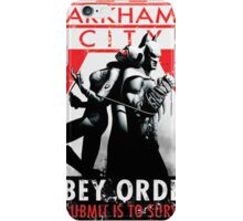 Batman Arkham City Survive iPhone Case/Skin