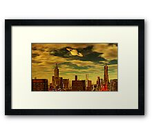 Gotham City - Ringworld Framed Print