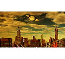 Gotham City - Ringworld Photographic Print