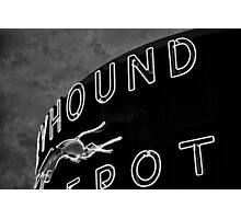 The Greyhound| A Bus Depot Photographic Print