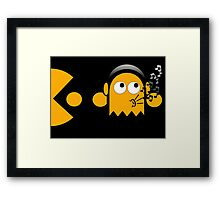 Pacman - The Ghosts - Clyde Framed Print