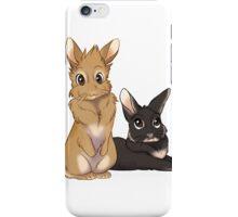 Levi and Robin the Bunnies - Custom iPhone Case/Skin