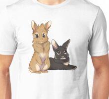 Levi and Robin the Bunnies - Custom Unisex T-Shirt