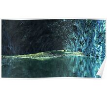 Blue Grotto - Saphirus - Orion Galaxy Poster