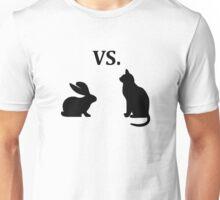 bunny vs cat  Unisex T-Shirt