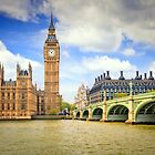 London Big Ben, Thames River by fine-art-prints