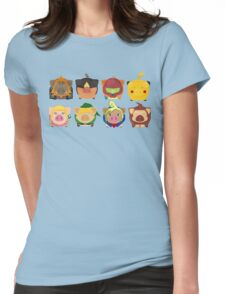 Ninted Piggies Womens Fitted T-Shirt