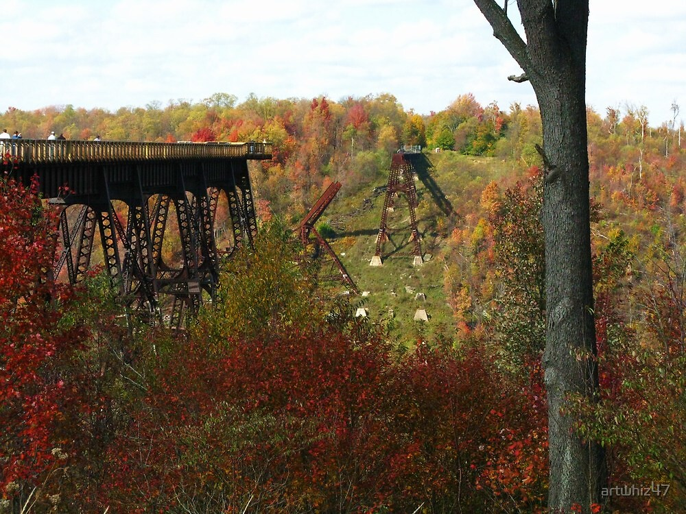 Kinzua Trestle ~ 2 by artwhiz47