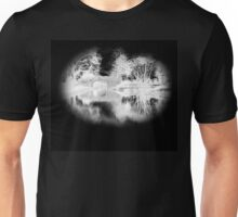 Black and white water Unisex T-Shirt