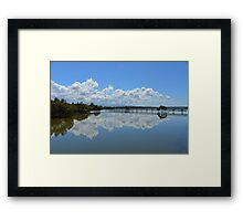 Urunga Boardwalk Framed Print