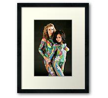 Painted Ladies 1 Framed Print