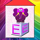 E is for Elephant by Dennis Melling