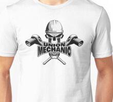 Union Mechanic: Skull and Socket Wrenches Unisex T-Shirt