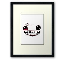 Super meat boy Framed Print