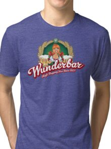 Wunderbar Bier Tri-blend T-Shirt