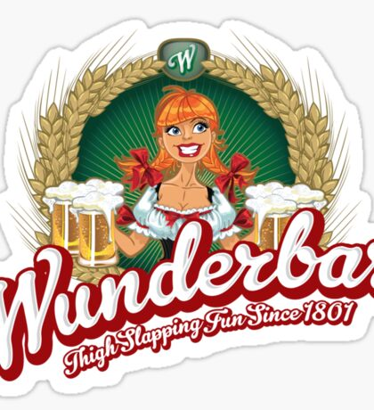 Wunderbar Bier Sticker