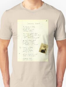 VINTAGE POEM BY TIA KNIGHT JOURNEY HOME T-Shirt