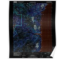 USGS TOPO Map Guam Talofofo 462411 2000 24000 Inverted Poster