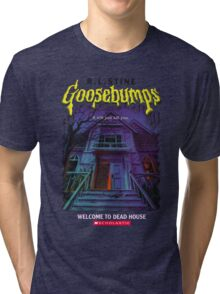 Goosebumps Welcome to the Dead House Tri-blend T-Shirt