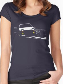 Japanese classic drift Women's Fitted Scoop T-Shirt