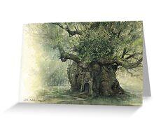 The Faery Tree Greeting Card