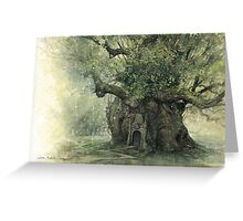 The Faery Tree Greeting Card