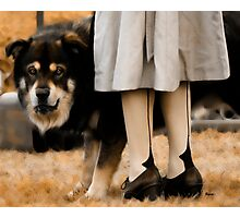 Her Guardian  Photographic Print