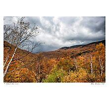 White Mountain's Gold Photographic Print
