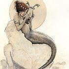 The Mermaid in the Moon by JBMonge