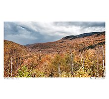 White Mountain's Gold Photographic Print