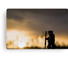 Sunset Hike Canvas Print
