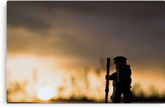 Sunset Hike by Dan Phelps