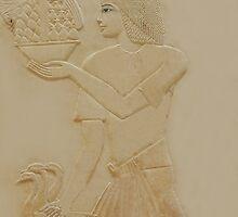Egyptian serving man by neil harrison