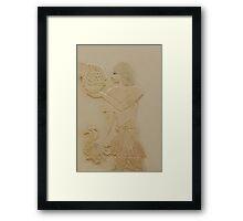 Egyptian serving man Framed Print