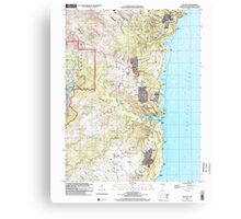 USGS TOPO Map Guam Talofofo 462411 2000 24000 Canvas Print