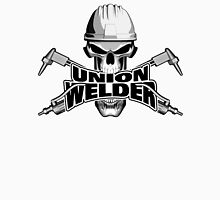 Union Welder: Skull and Torches Unisex T-Shirt