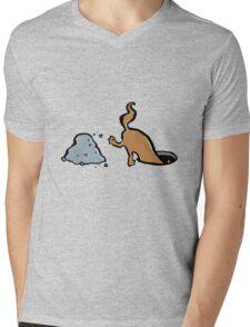 diggin Mens V-Neck T-Shirt